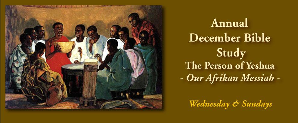 December Bible Study