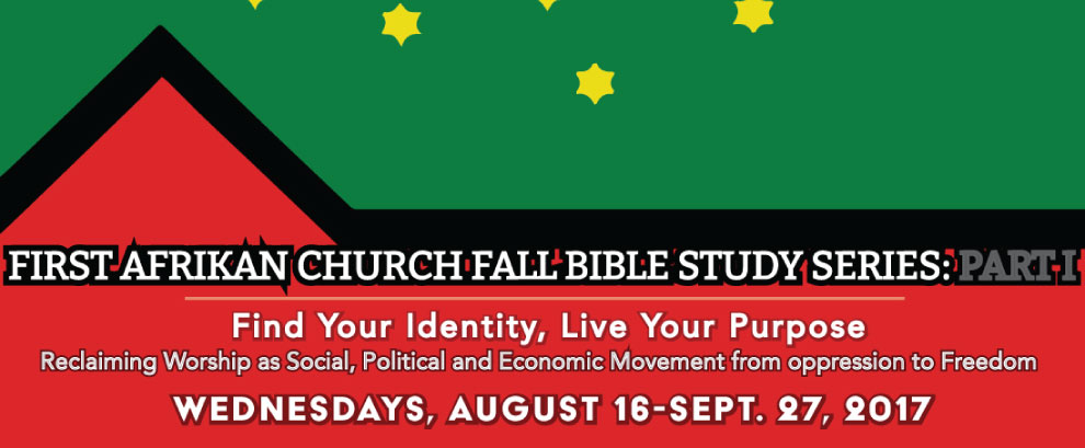 Bible Study Will Resume on 9/27