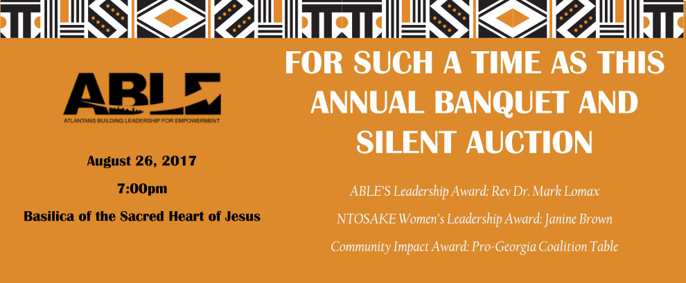 A.B.L.E Banquet & Silent Auction