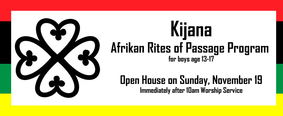 Kijana - Rites of Passage
