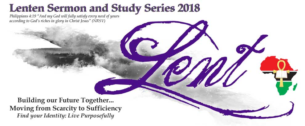 Lenten Sermon & Bible Study Series