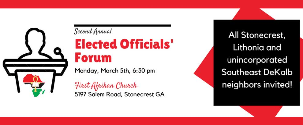 FACAT 2nd Annual Elected Officials Forum