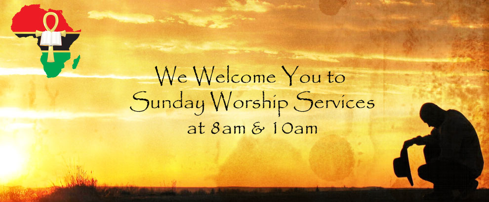 Worship Services at 8am & 10am