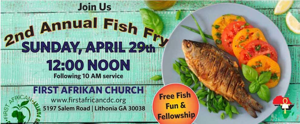 Food Pantry 2nd Anniversary & Fish Fry