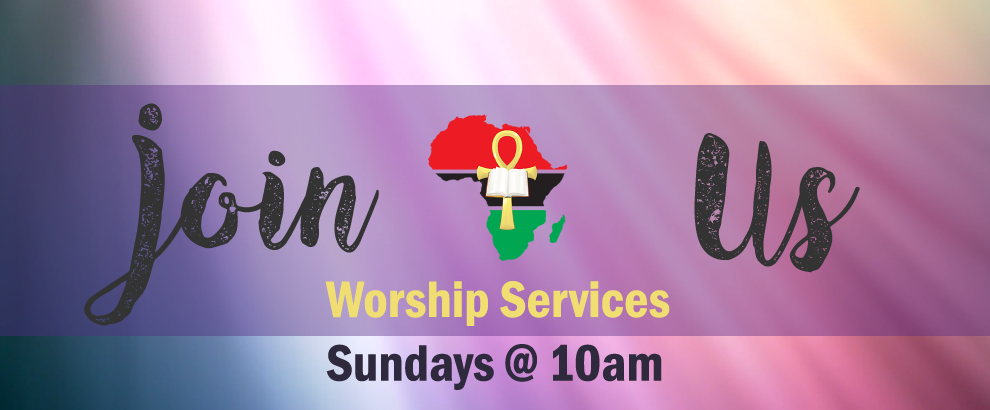 WELCOME to Worship Services at 10:00AM