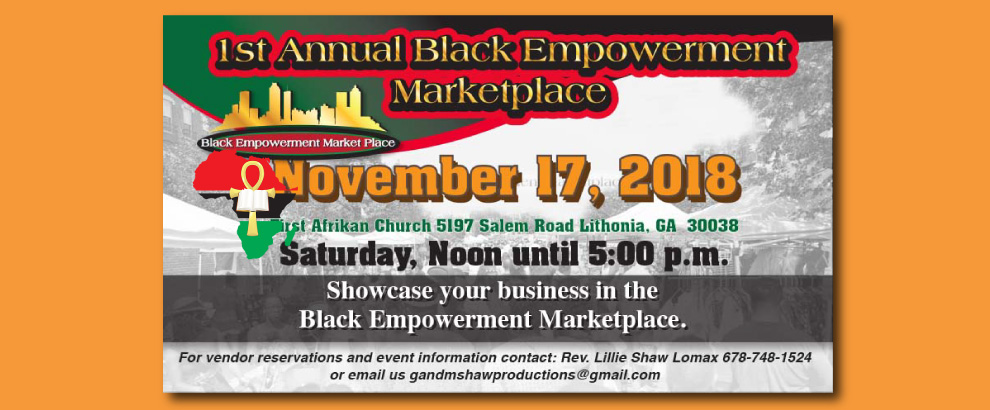 Black Empowerment Marketplace - 12pm