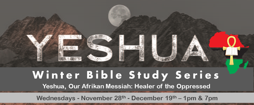 Winter Bible Study Series: 1pm & 7pm