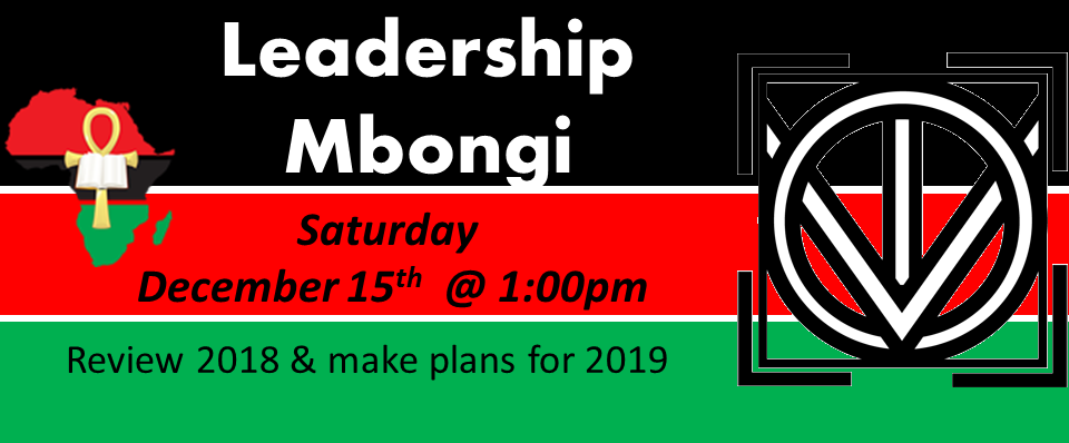 Year-End Leadership Mbongi