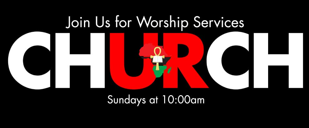 Join Us Sunday Worship Services!