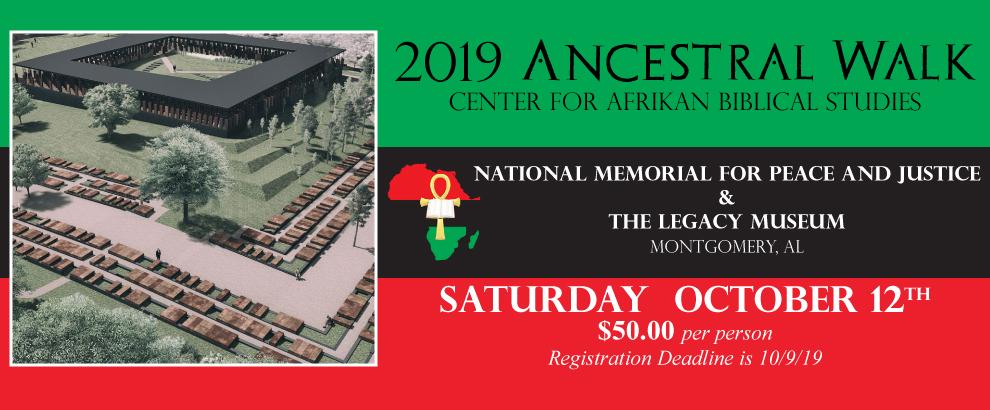 Register for the Ancestral Walk