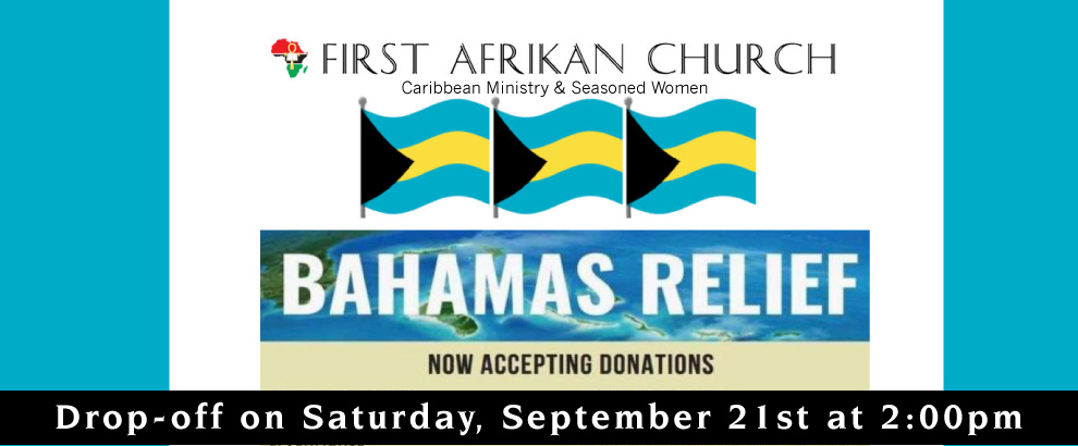 Bahamas Donations Needed!