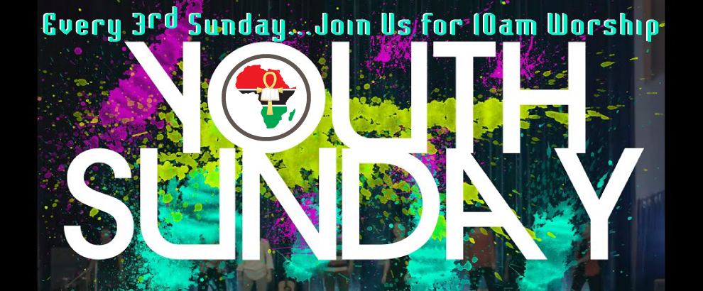 Join Us For Youth Sunday Worship Services