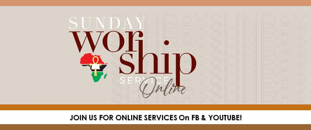 Online Church Services on FB and YouTube @FirstAfrikan