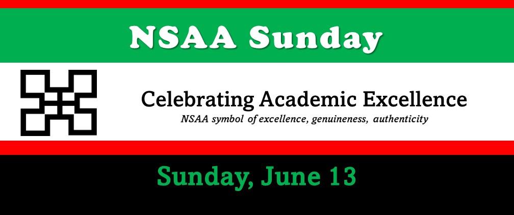 NSAA Sunday - 9:30am