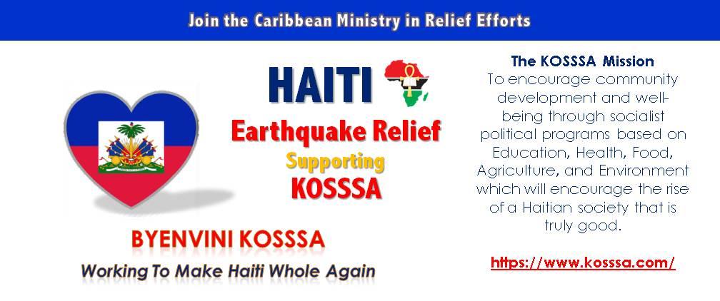 Support HAITI Earthquake Relief